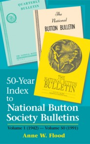 50-Year Index to the National Button Society Bulletins